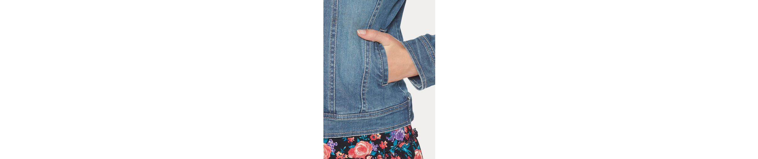 Cheer Jeansjacke, in Used-Waschung
