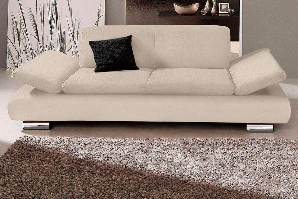 Max Winzer® 2,5-Sitzer Sofa »Toulouse« mit klappbaren Armlehnen ...
