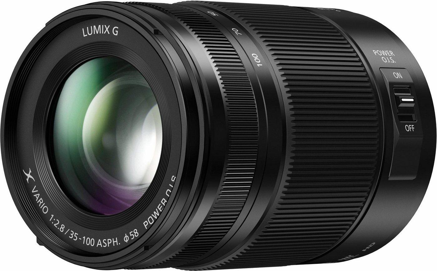 Objektive - Lumix Panasonic »H HSA35100E« Festbrennweiteobjektiv  - Onlineshop OTTO