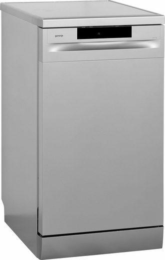 GORENJE Standgeschirrspüler, GS52010S, 9 l, 9 Maßgedecke, 45 cm breit