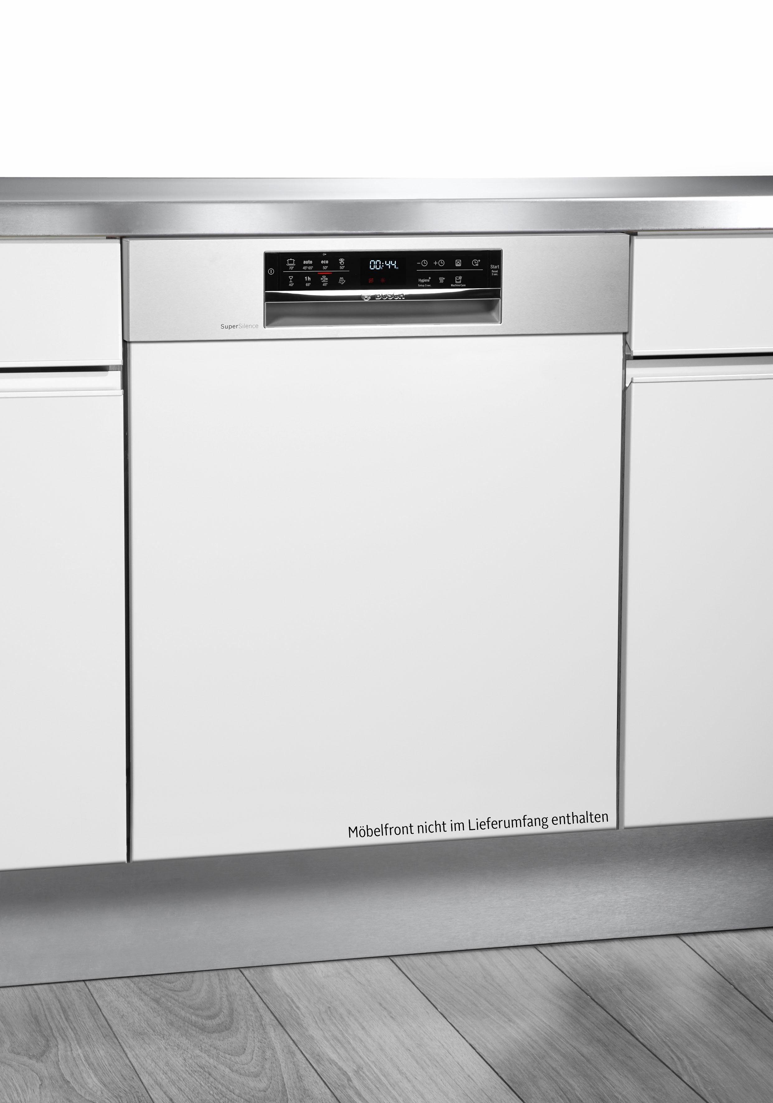 BOSCH Vollintegrierbarer Einbaugeschirrspüler Serie 6 SMI68MS02E, A++, 9,5 Liter, 14 Maßgedecke