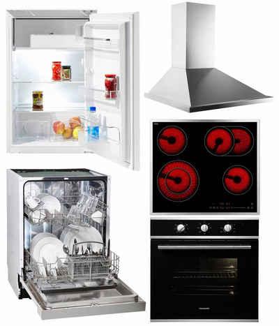 hanseatic herde online kaufen | otto - Einbau Küchengeräte Set