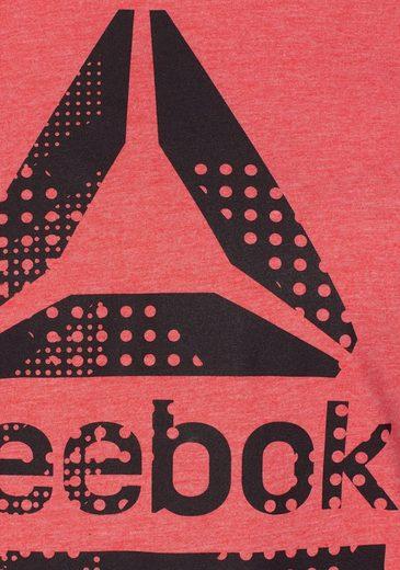 Reebok Rundhalsshirt Speedwick Blend Graphic Tee