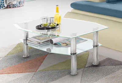 Places Of Style Glas Couchtisch 8 Eckig