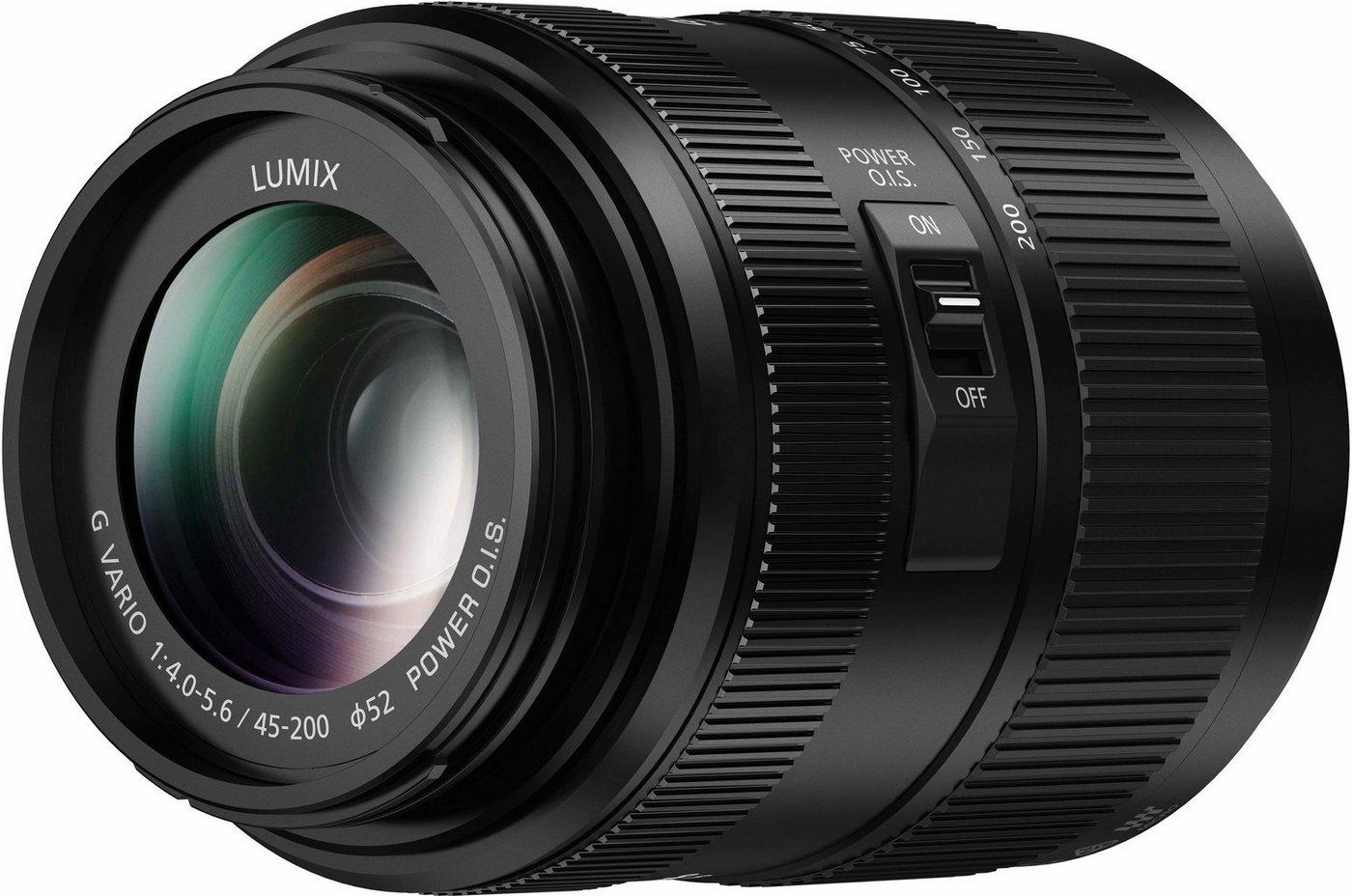 Objektive - Lumix Panasonic »H FSA45200E« Teleobjektiv  - Onlineshop OTTO
