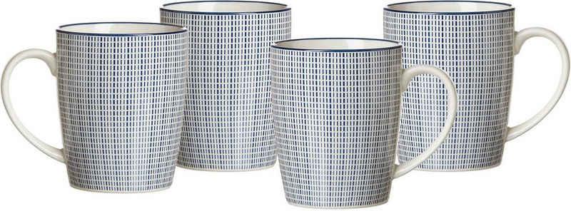 Ritzenhoff & Breker Becher »ROYAL MAKOTO«, Keramik, 4-teilig