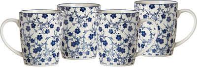Ritzenhoff & Breker Becher »ROYAL SAKURA«, Keramik, 4-teilig