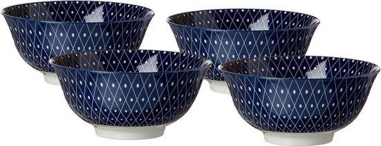 Ritzenhoff & Breker Müslischale »ROYAL REIKO«, Keramik, (Set, 4-tlg), mikrowellengeeignet