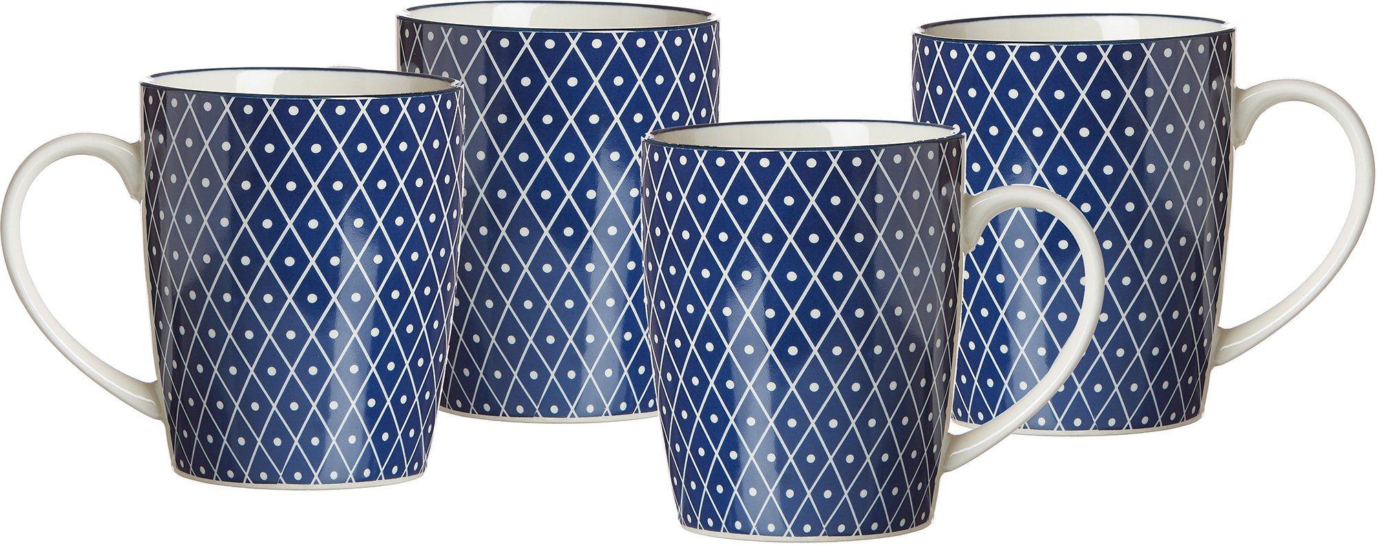 Kaffeebecher, Keramik, 4 Teile, »ROYAL REIKO«