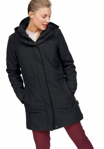 Jack Wolfskin 3-in-1 Function Coat Ottawa Coat (set, 2 Pcs), From The 3-in-1-system Series Extra Long