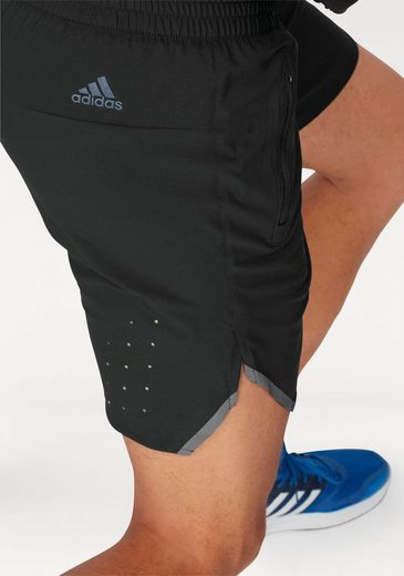 adidas Performance Laufshorts ULT RGY SHORT MEN, mit enger Innenshorts
