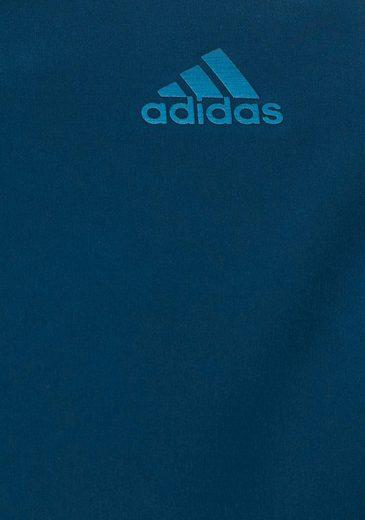 adidas Performance Laufjacke SUPERNOVA 1/2 ZIP MEN, mit reflektierendem Muster am Arm