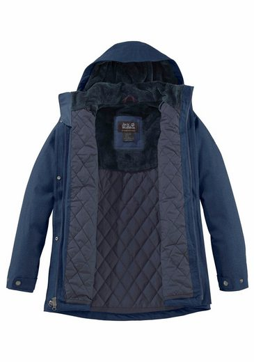 Jack Wolfskin Functional Jacket Park Avenue Coat, Waterproof Outer Material