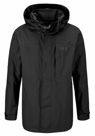 Jack Wolfskin Funktionsjacke BROOKS RANGE FLEX, - aus der 3in1 System Regular-Serie