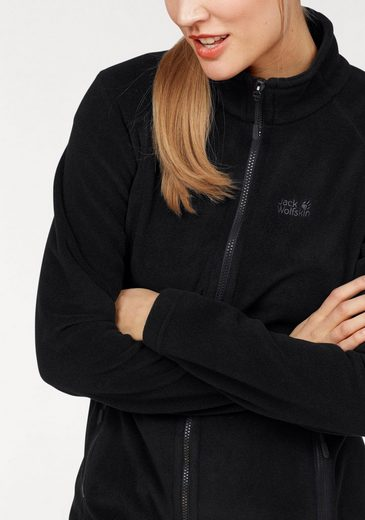 Jack Wolfskin Fleecejacke MIDNIGHT MOON, aus der 3-in-1-Regular-System-Serie