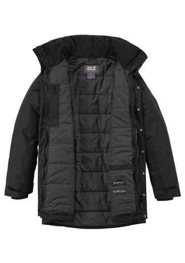 Jack Wolfskin Functional Parka Yukon Parka With Waterproof Outer Material