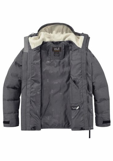 Jack Wolfskin Down Jacket Banff Springs Jacket, - Upper With Organic Cotton