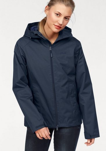 Jack Wolfskin Funktionsjacke CHILLY MORNING WOMEN, mit wasserdichtem Obermaterial
