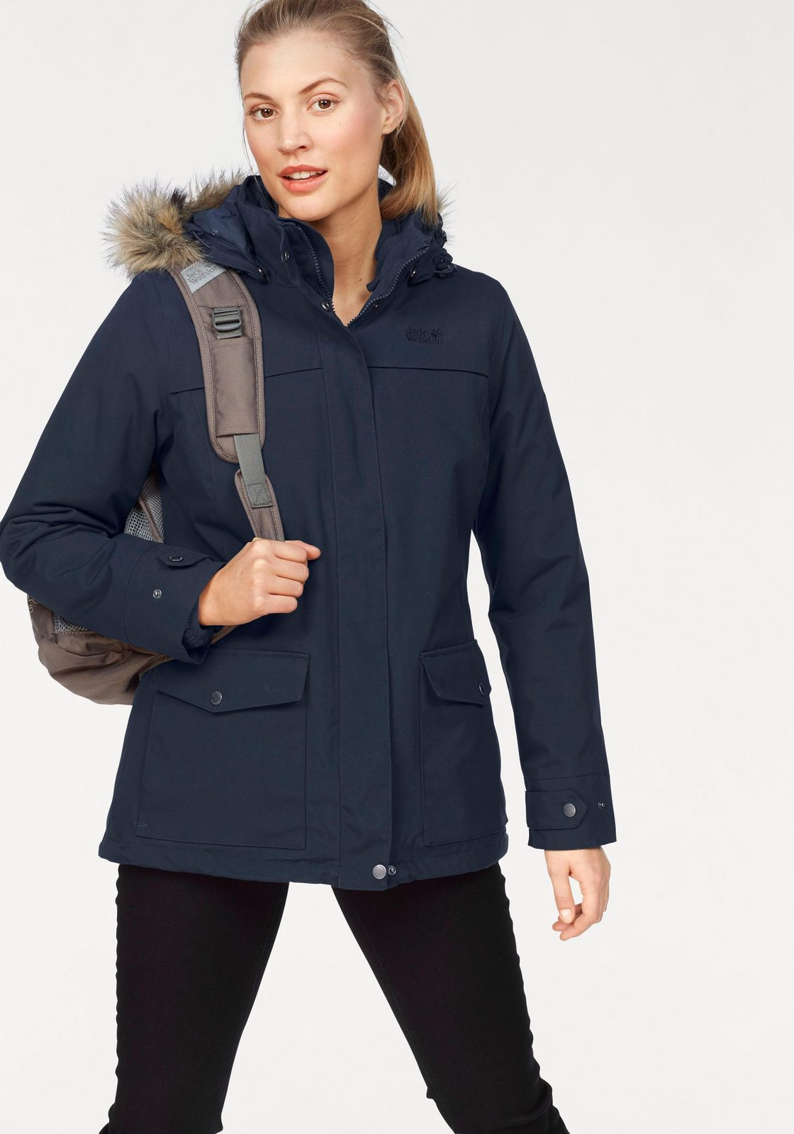 Jack Wolfskin 3-in-1-Funktionsjacke »ROCKY SHORE« (Set, 2 tlg), aus der 3-in-1-Regular-System-Serie