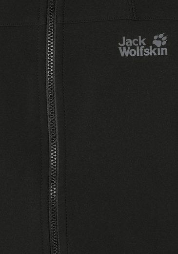 Jack Wolfskin Softshelljacke ESSENTIAL ALTIS, aus der 3-in-1 Regular System-Serie