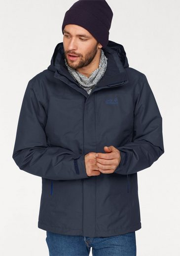 Jack Wolfskin Funktionsjacke NORTHERN EDGE MEN, mit wasserdichtem Obermaterial