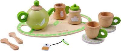 EverEarth® Spielgeschirr »Teeservice«, (Set), FSC®-Holz aus gewissenhaft bewirtschafteten Wäldern