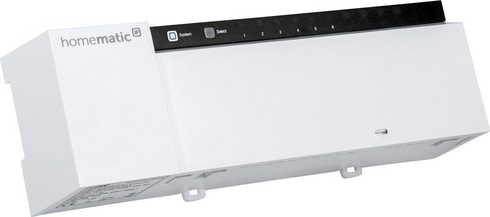 Homematic IP Smart Home - Raumklima & Komfort »Fußbodenheizungsaktor - 6-fach - HmIP-FAL24-C6«