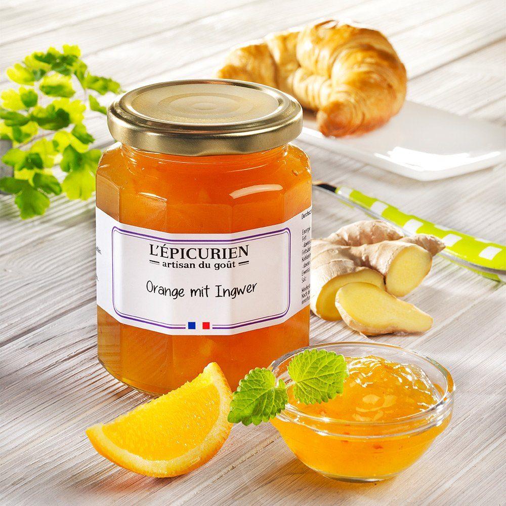 L'epicurien L'Épicurien Konfitüre Orange mit Ingwer