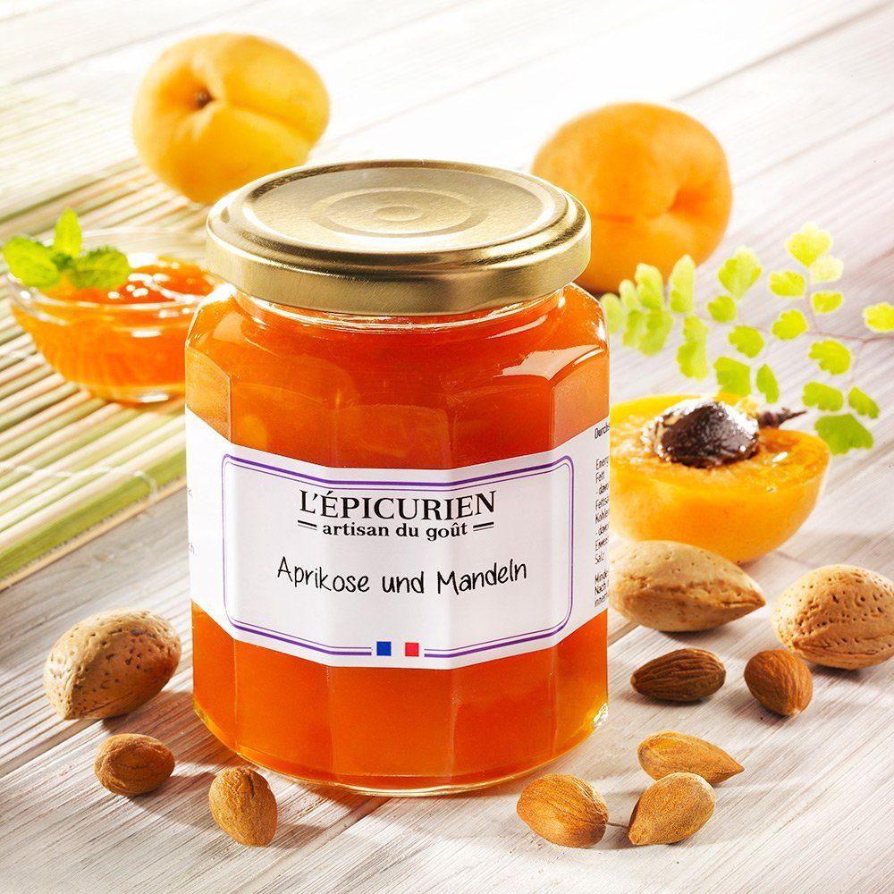 L'Epicurien L'Epicurien Konfitüre Extra Aprikose und Mandeln
