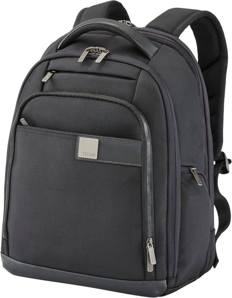 titan rucksack mit laptopfach powerpack kaufen otto. Black Bedroom Furniture Sets. Home Design Ideas