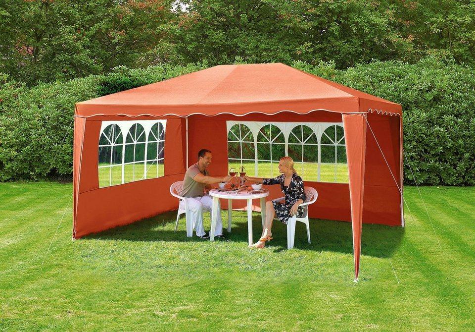 partyzelt premium 3x4 m terracotta kaufen otto. Black Bedroom Furniture Sets. Home Design Ideas