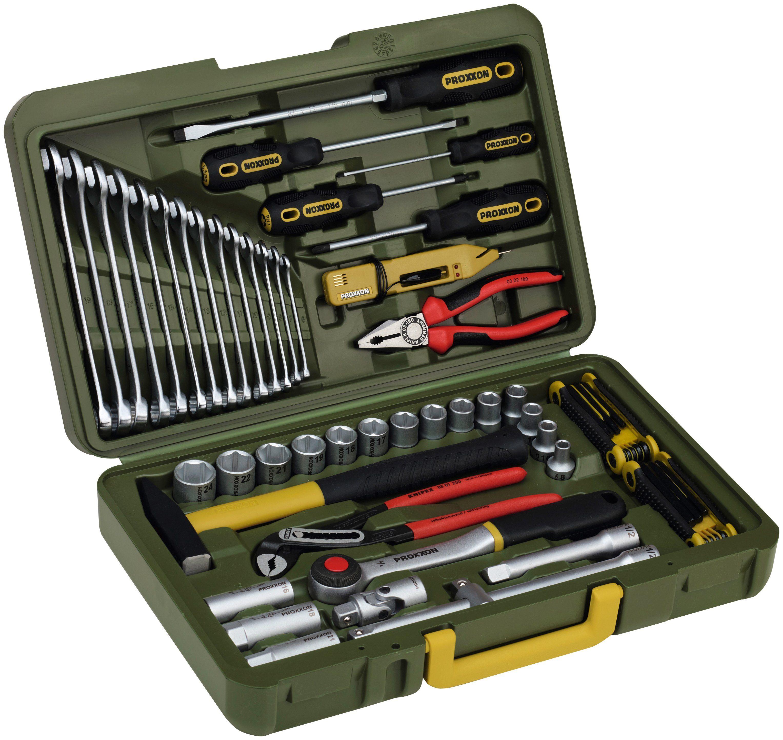 PROXXON Werkzeugkoffer »(47-tlg.)«