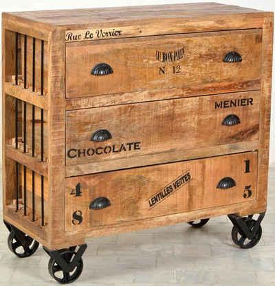 SIT Kommode »Rustic«, Breite 90 cm, Shabby Chic, Vintage