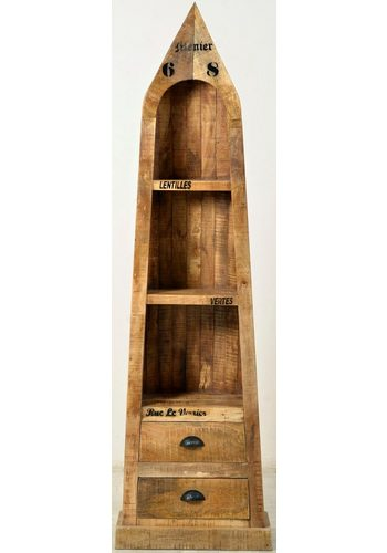 SIT Bootsregal Rustic, im factory design, Höhe 190 cm  |