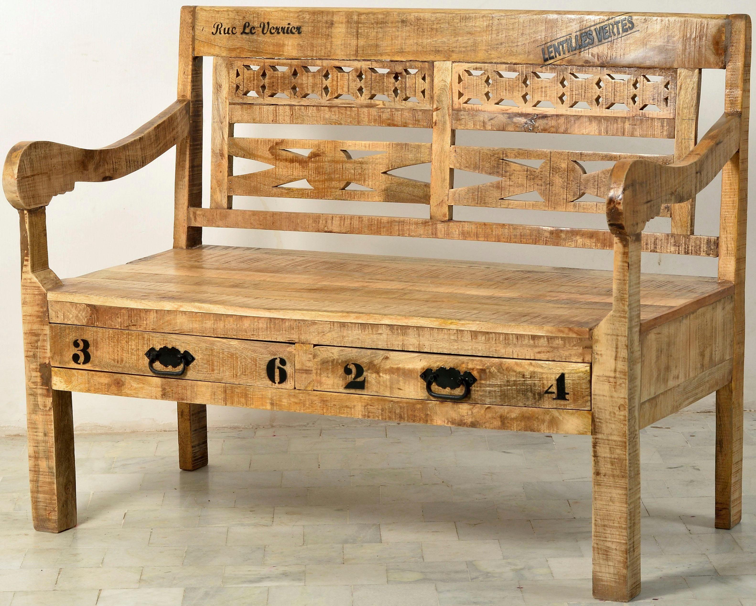 SIT Sitzbank «Rustic», im factory design, Breite 120 cm