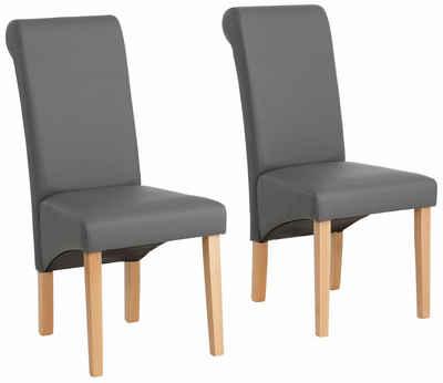 esszimmerstühle in grau online kaufen | otto, Esszimmer dekoo