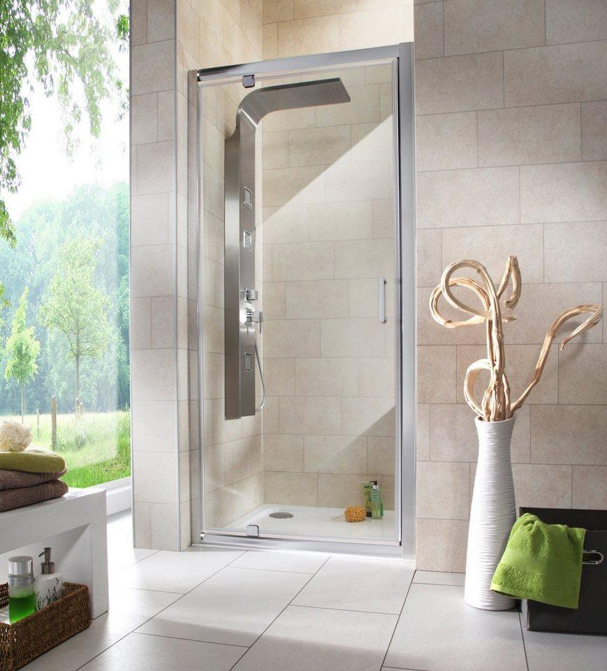 nischentr texas duschtr mit verstellbereich von 86 90 cm - Dusche Nischentur 85 Cm