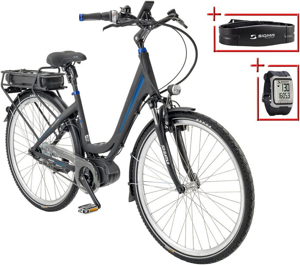 fischer fahrraeder e bike city damen ecu 1760 28 zoll 8 gang mittelmotor 557 wh online. Black Bedroom Furniture Sets. Home Design Ideas