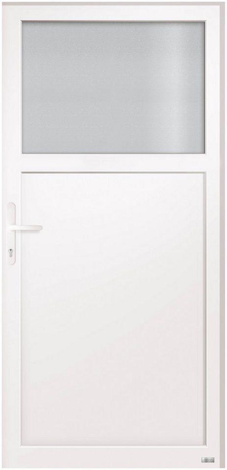 RORO Türen & Fenster Kunststoff-Haustür »Schottland«, BxH: 98x198 cm, weiß, Anschlag links
