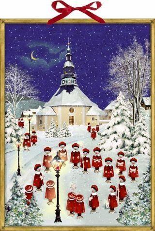 Kalender »Weihnacht im Erzgebirge Wand-Adventskalender«