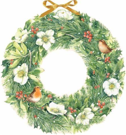 Kalender »Marjoleins zauberhafter Weihnachtskranz....«