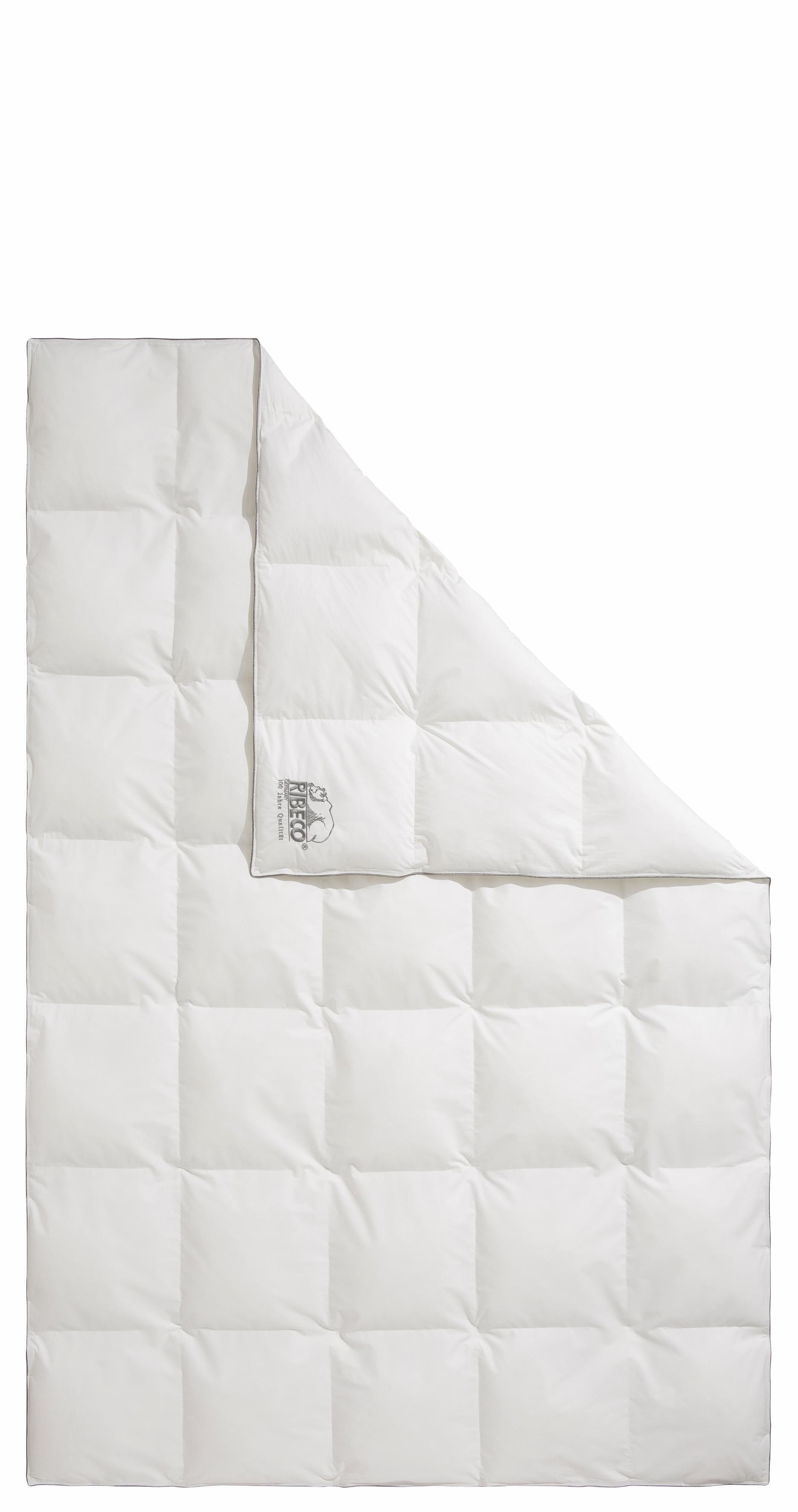 Kunstfaserbettdecke, »Marie«, RIBECO, normal, (1-tlg) | Heimtextilien > Decken und Kissen > Bettdecken | RIBECO