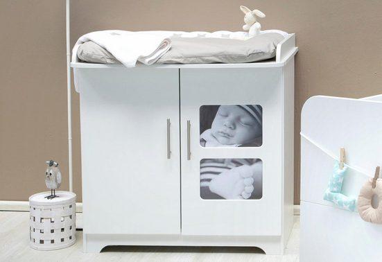 Zöllner Wickelkommode »Happy«, mit eigenem Babyfoto individualisierbar