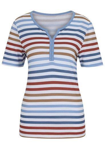 Collection L. Shirt mit Ziersteinchen