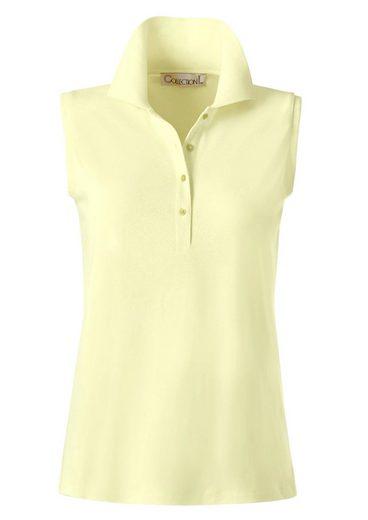 Collection L. Shirttop aus luftigem Pikee