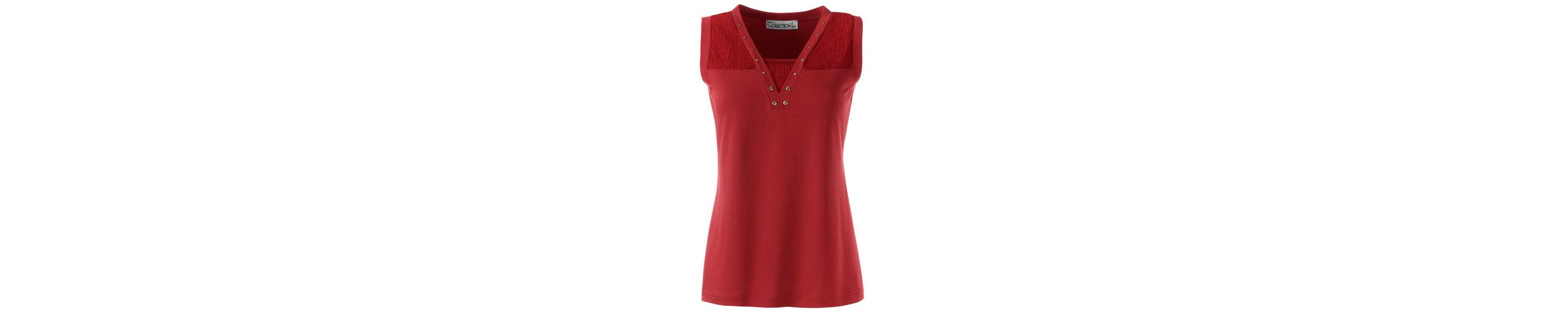 Billig Aus Deutschland Collection L. Shirttop mit Nieten Verkauf Großer Diskont eXwNmxag