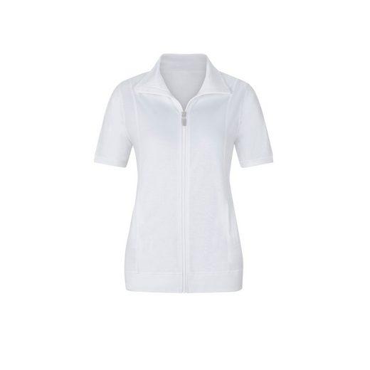 Classic Basics Shirtjacke mit Umlegekragen