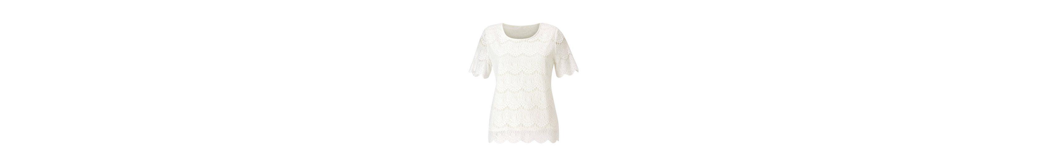 Alessa W. Shirt aus hochwertiger Spitze Billig wENucGG