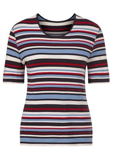 Collection L. Shirt im Streifen Dessin