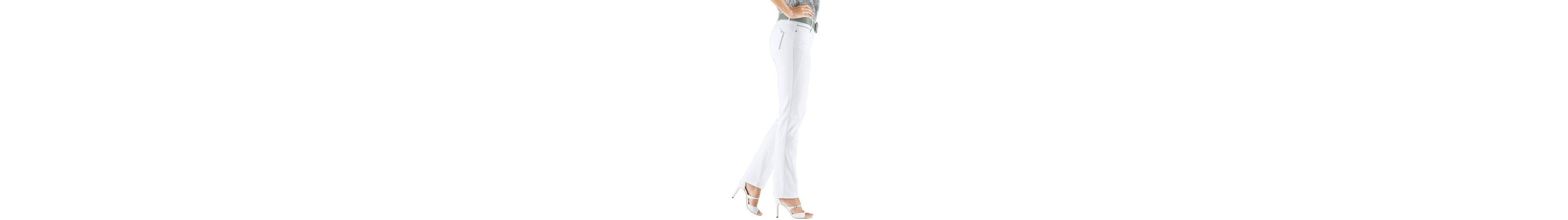 Classic Inspirationen Jeans mit Zierperlenbänder Neue Angebote xDahITk